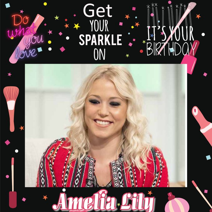 Happy Birthday Amelia Lily, Dan Bigger, Craig Pickering, Nicky Adams, Pippa Black, Laura Wade & Geoff Barnett