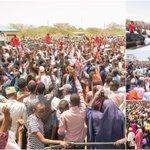 President Kenyatta woos Garissa voters