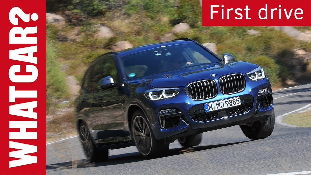 2017 BMW X3 review   What Car? first drive - Dauer: 2 Minuten, 51 Sekunden