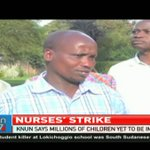 Communicable diseases hit hard as nurses strike continues
