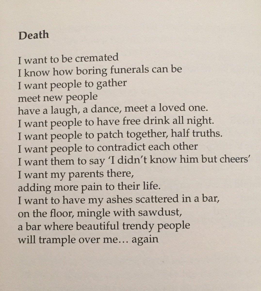 RT @Vivienneclore: A poem by #seanhughes #RIPSeanHughes https://t.co/3WbyOr6BtM