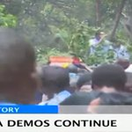 NASA supporters on streets in anti-IEBC protests