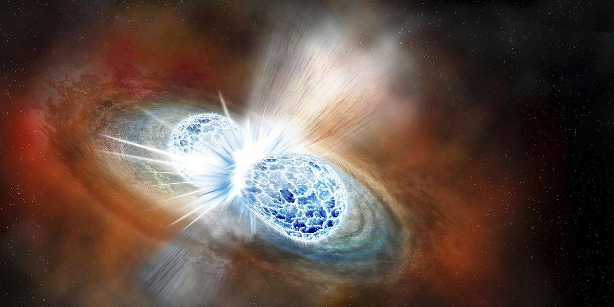In cosmic crash, scientists find origins of gold