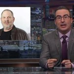 John Oliver slams Hollywood's hypocrisy over Harvey Weinstein scandal