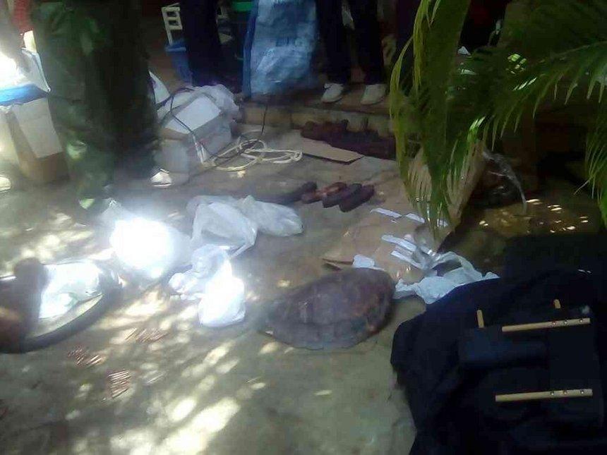Cops raid Nairobi billionaire's Malindi home, find guns and bullets