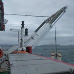 SA Agulhas II testing equipment for its historic expedition