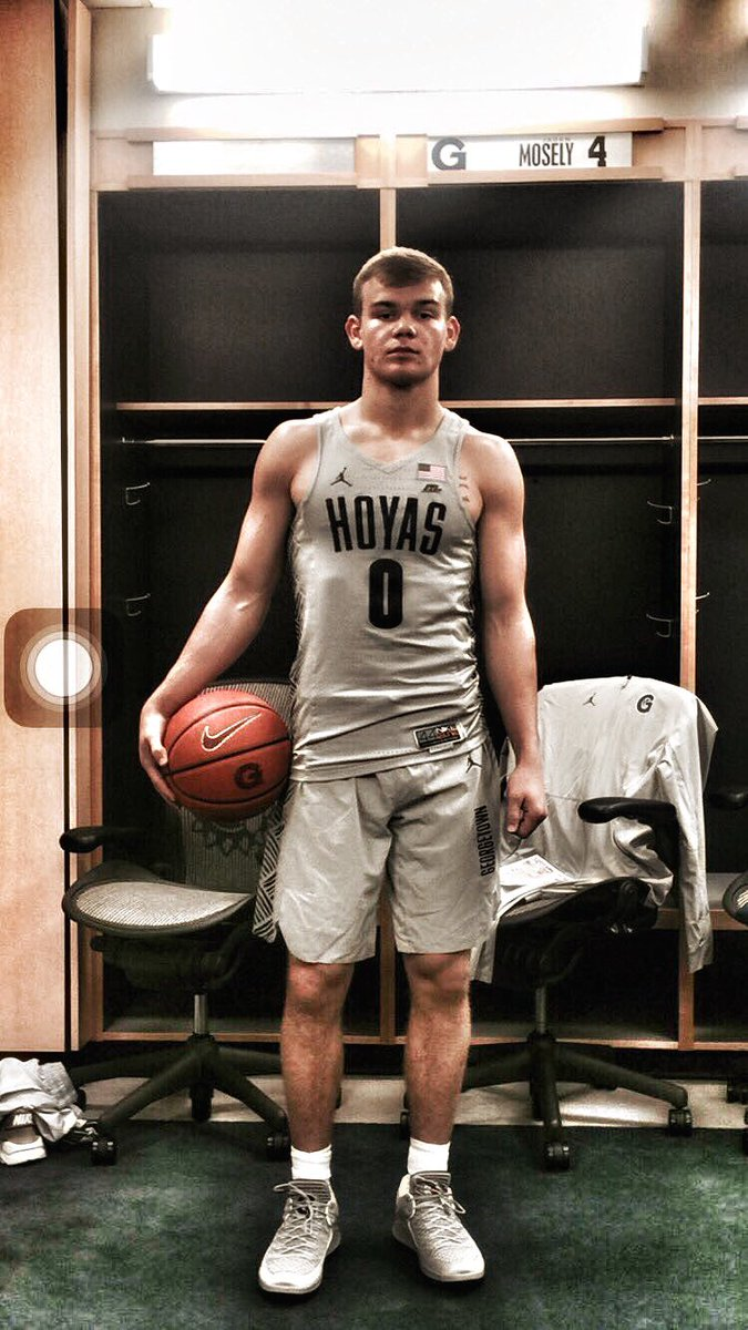 mac mcclung goes with patrick ewing and the to start his