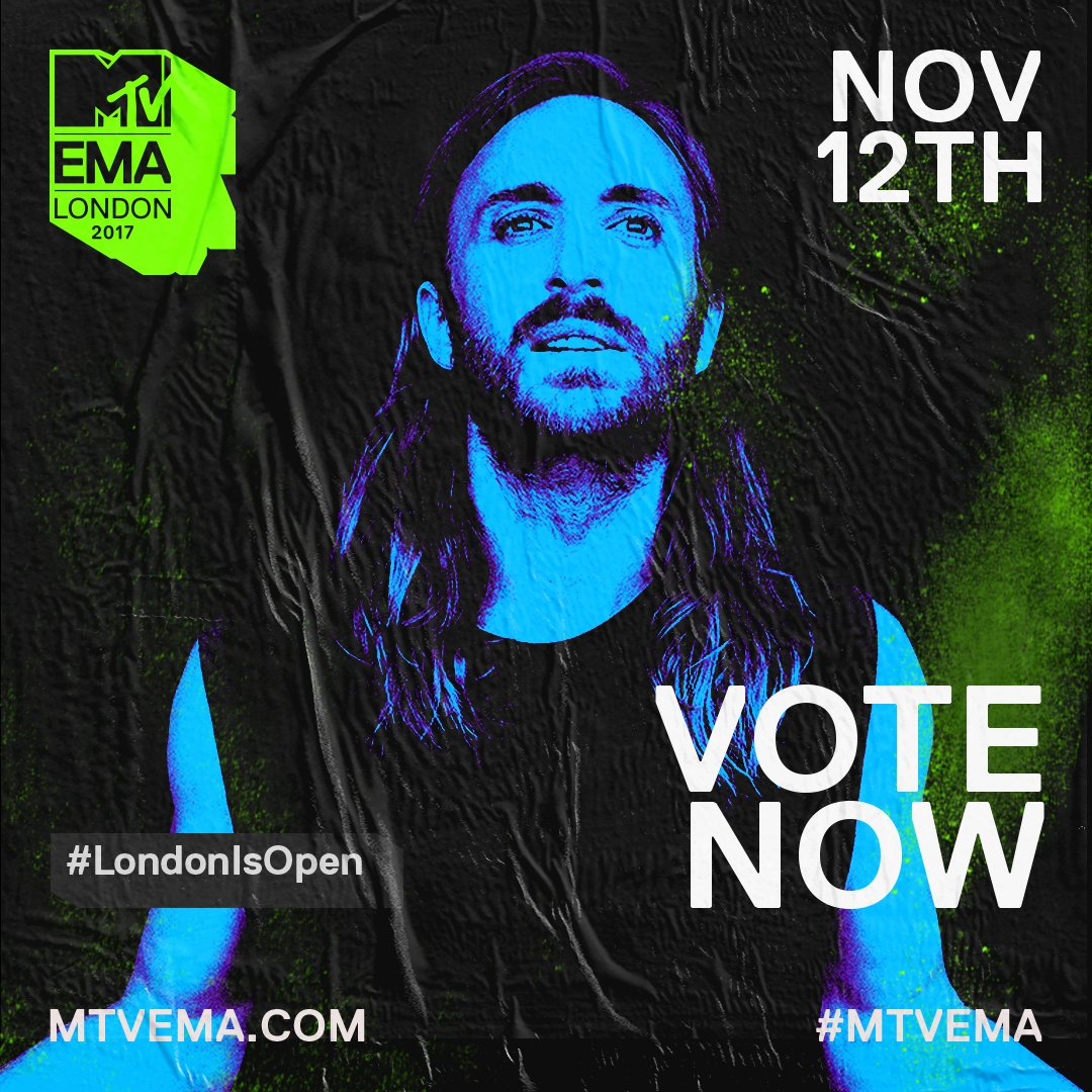 ��Please Vote for me as the #BestElectronic @MTVEMA https://t.co/Ggj5JoPPgM #NationGuetta https://t.co/wY8qIDHRnF