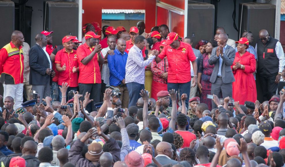 DP tells Raila to wait for 2022 if he's not ready for Oct 26 fresh election
