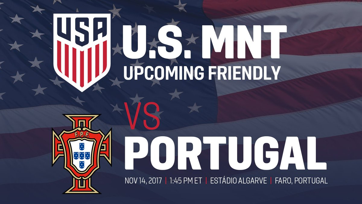 The #USMNT will travel abroad to face 3rd-ranked Portugal: https://t.co/3EkhGBUnp2 https://t.co/noZp3Vw4Li