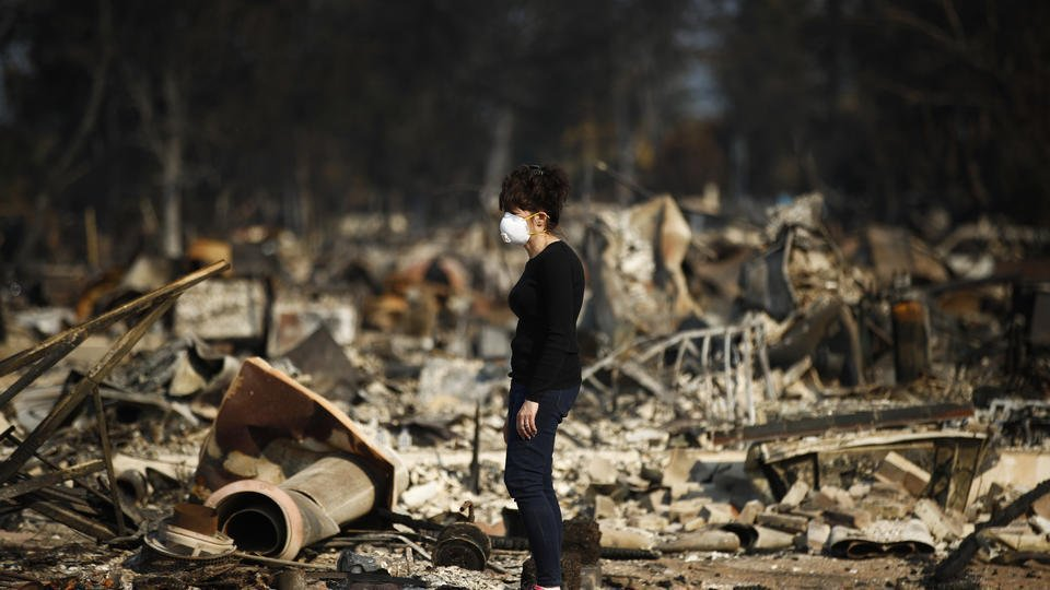 The Latest: Rain in forecast could ease California fires
