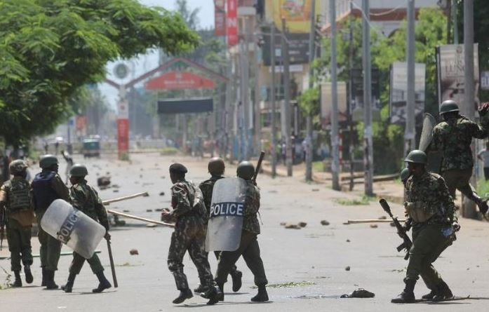 Police killed over 33 during demo — Report