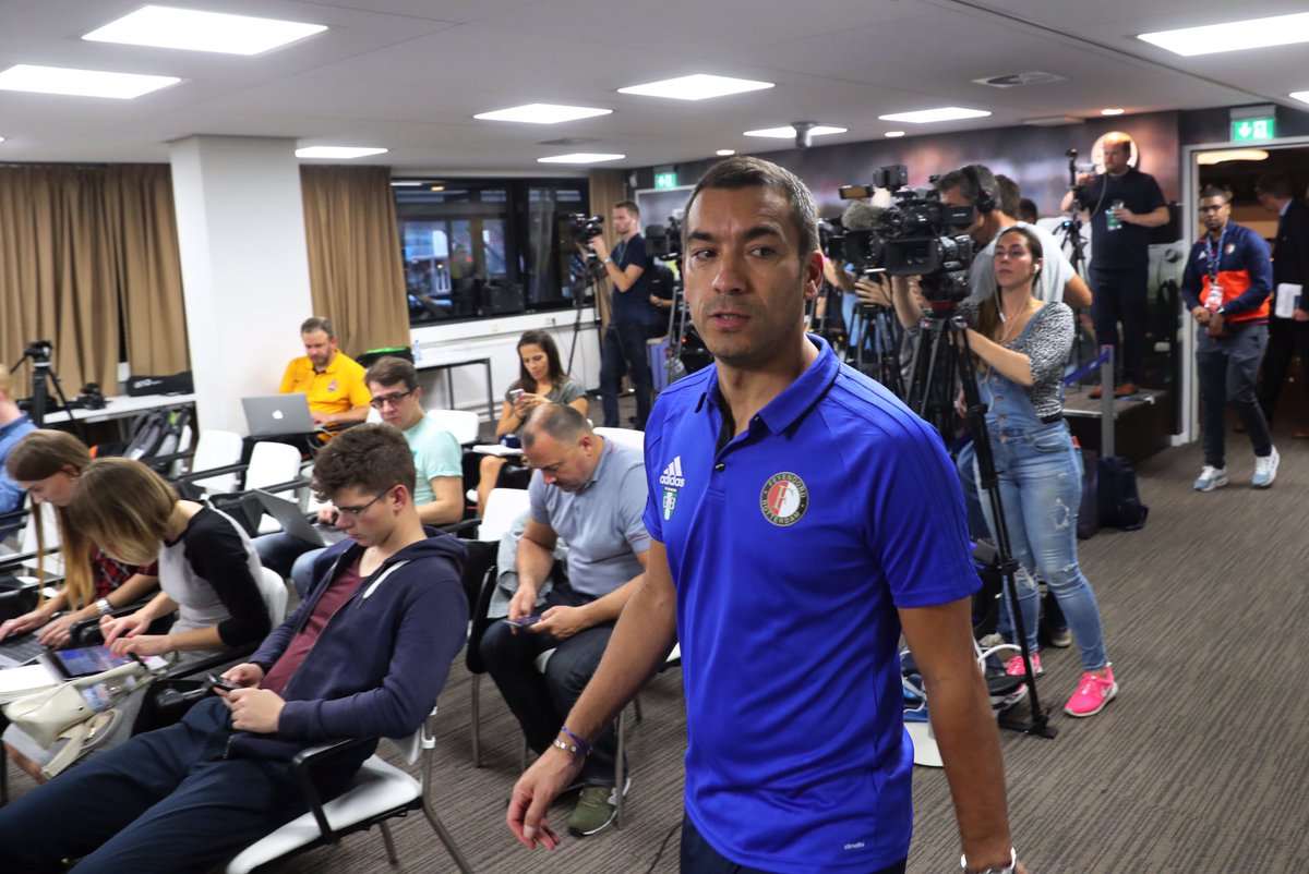 test Twitter Media - Tot zo ver de persconferentie over Feyenoord - Shakhtar Donetsk. Snel meer op https://t.co/CwJVvOZAZO.  #feysha #UCL https://t.co/6MP2E7xWxd