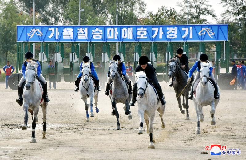 Jockeying for cash: North Korea allows racetrack gambling as sanctions bite