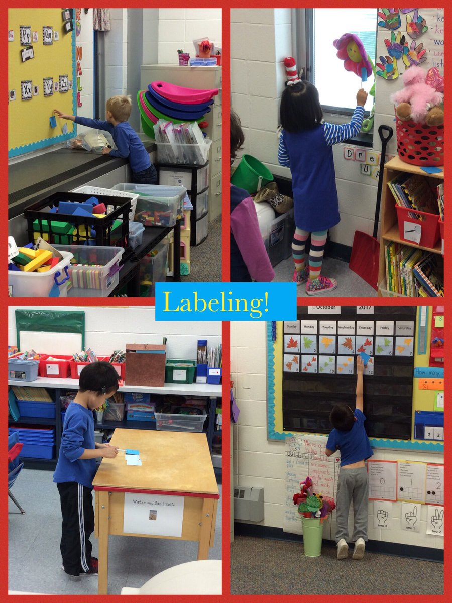 test Twitter Media - Kindergarteners worked on stretching out words and labeling our classroom! #d30learns #wbplays https://t.co/seWQ0lHlhS