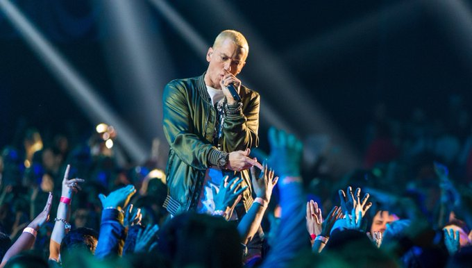 Happy birthday Eminem! Look back at our 2004 cover story on the rapper