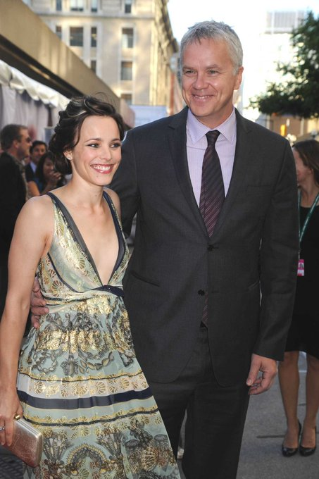 Happy Birthday to Tim Robbins! Rachel and Mr. Robbins worked together in (2008).