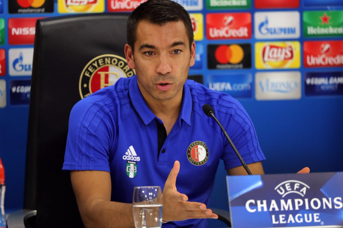 test Twitter Media - 📝 | Van Bronckhorst beseft belang Champions League-duel:  ➡️ https://t.co/zrbUeqLbrU  #feysha #UCL https://t.co/AJQUguaSoP
