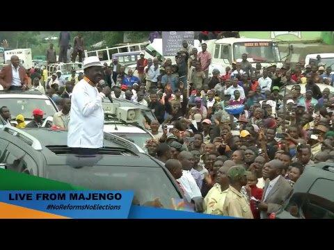We keep marching on towards victory in Luanda #NoReformsNoElections