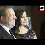 Harvey Weinstein's wife Georgina Chapman says she's leaving him