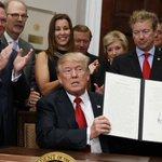 Business owner faces backlash for attending Trump signing