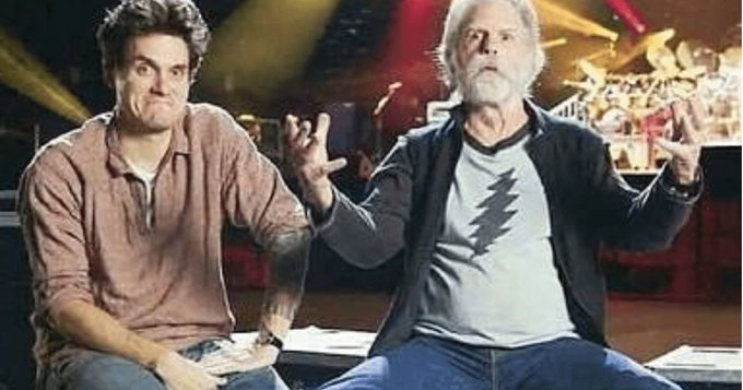 Bob Weir & John Mayer Wish Each Other Happy Birthday In Adorable Instagram Posts