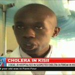 3 dead, 20 hospitalised in suspected cholera outbreak in Kisii