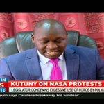 Joshua Kutuny calls on Matiang'i to remove demo ban