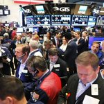 Dow, S&P 500, Nasdaq end at records as bank shares gain