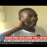 Building collapses at president Uhuru rally in Karatina