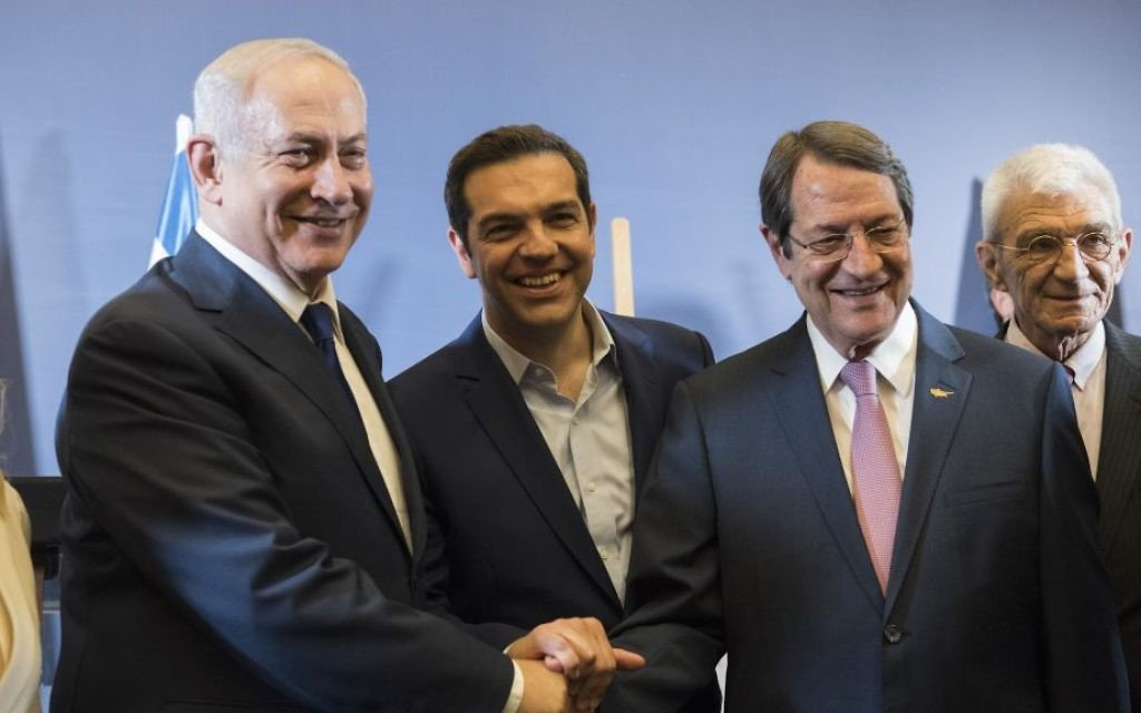 Work on Israel-Cyprus-Greece electricity link to start in 2018