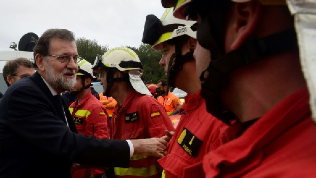 Spanish premier blames arsonists for deadly wildfires
