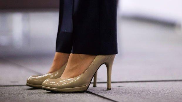 Bill banning mandatory wearing of high heels in work place to be introduced