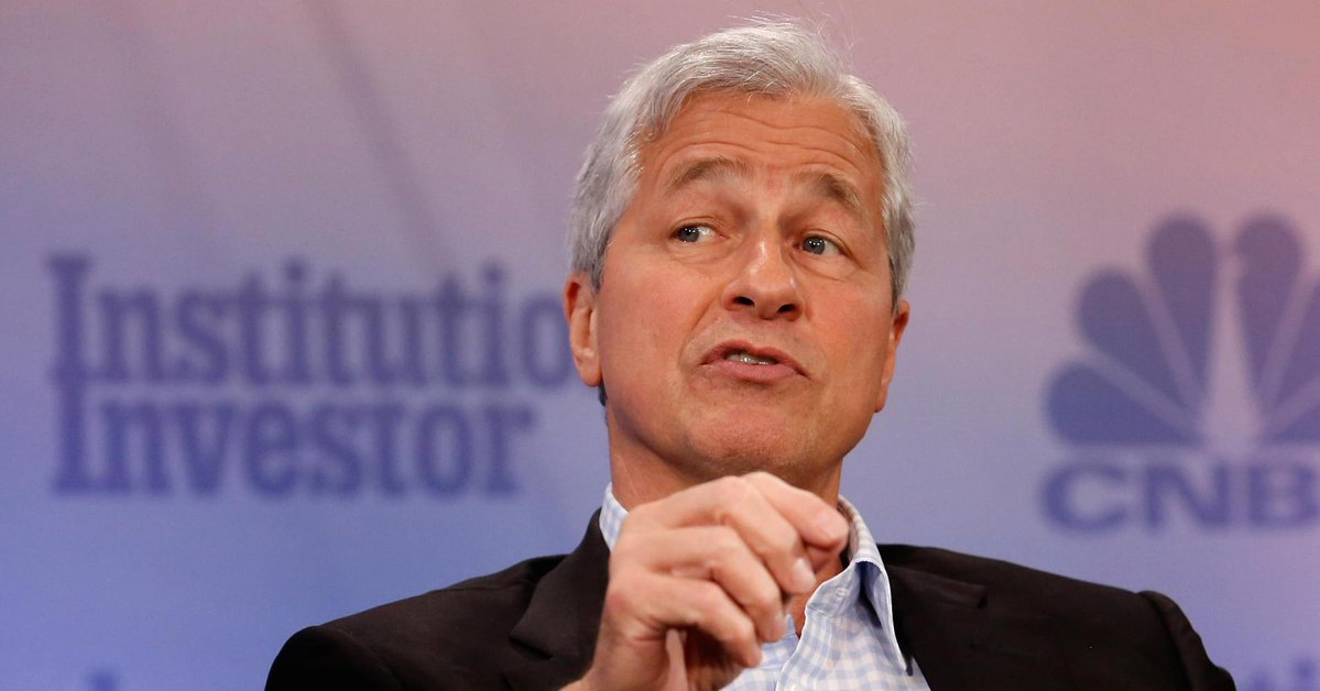 Jamie Dimon is betting big on the technology behind 'fraud' bitcoin