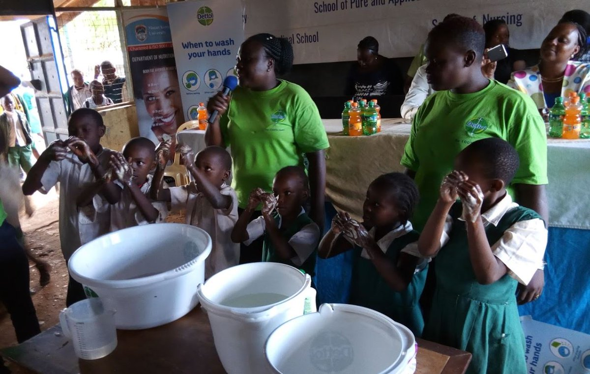 Nairobi County Government Partners with Dettol to Launch Handwashing Campaign in Kenya