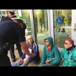 18 arrested after activists sit down in front of Springfield DHS office to protest deportation of Lucio Perez