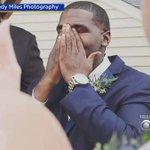 Groom Breaks Down In Tears At The Sight Of His Bride