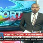 Kenya drops in FIFA rankings