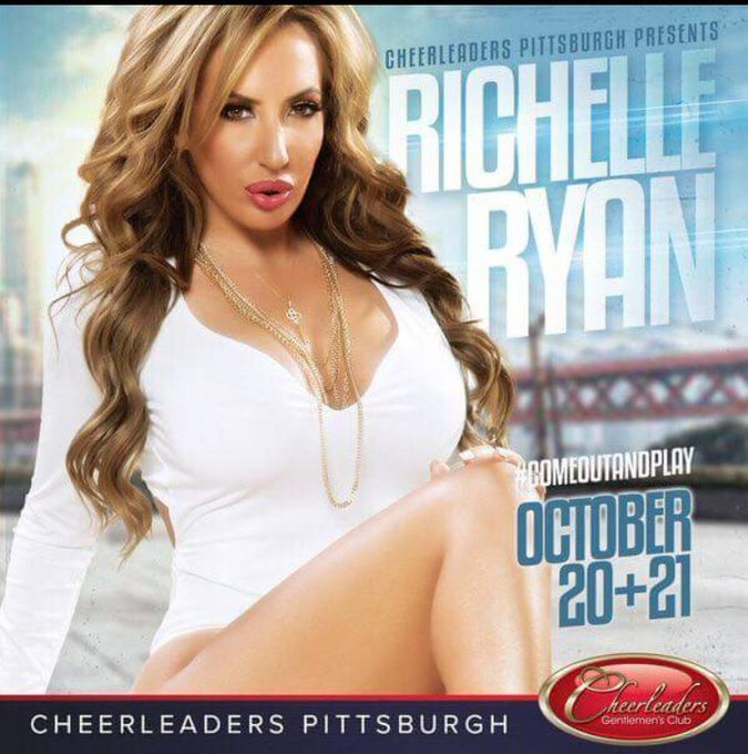 #Pittsburgh Come see me October 19-21 at @cheerleaderspgh  Watch me rock the Burgh!!! https://t.co/P