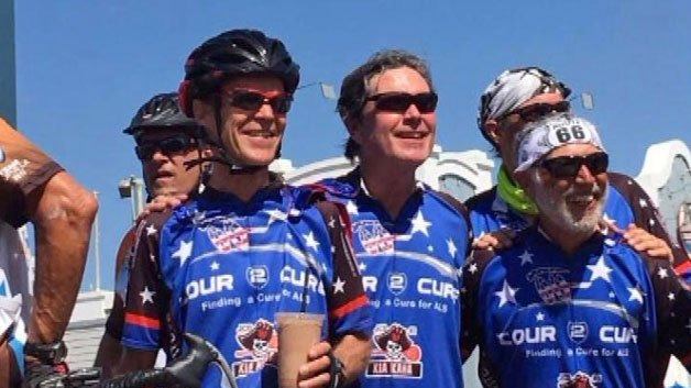 Cyclists Ride Cross-Country To Raise Money For ALS Research