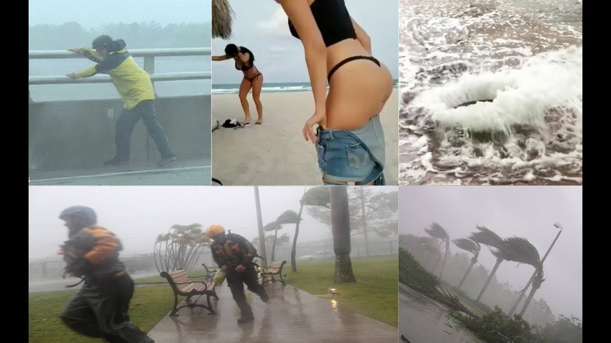 Hurricane Nate Landfall New Orleans Louisiana Mississippi Alabama - Storm Mobile Flood Flooded 10/7
