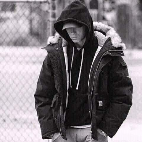 Happy birthday Eminem Slim shady Marshall Mathers B-Rabbit Rap God   Man of emotions... Luv u