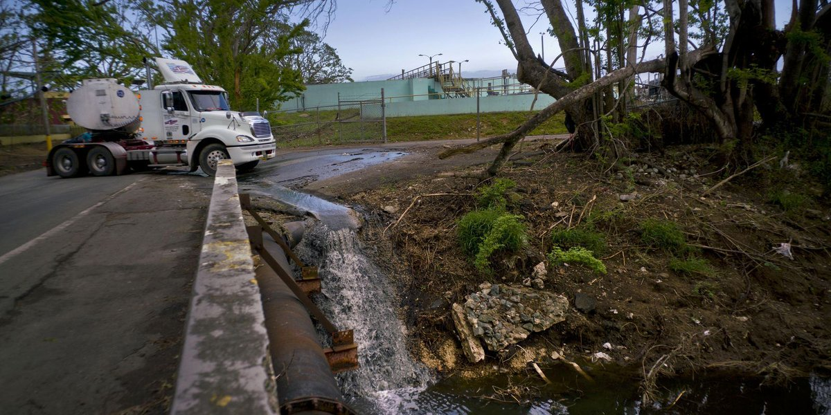 Puerto Rico struggles with massive environmental crisis