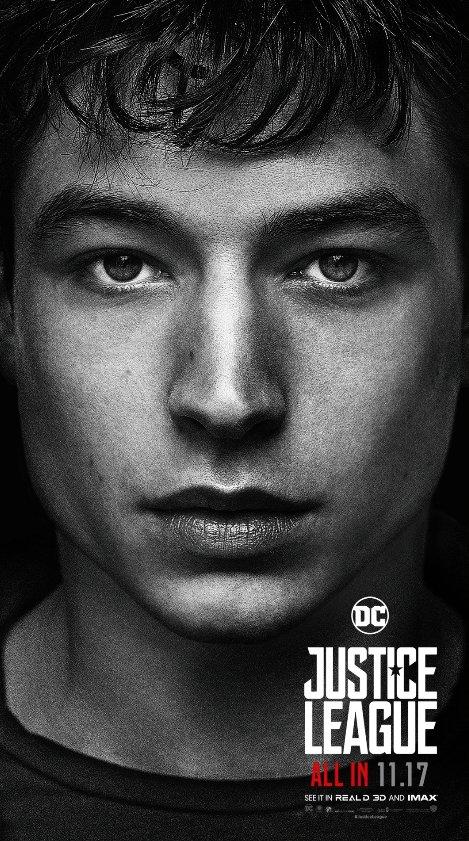 Ezra Miller as #TheFlash. He's electric.⚡️ #JusticeLeague