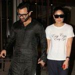 Kareena Kapoor, Saif Ali Khan At Soha's House On Wedding Anniversary