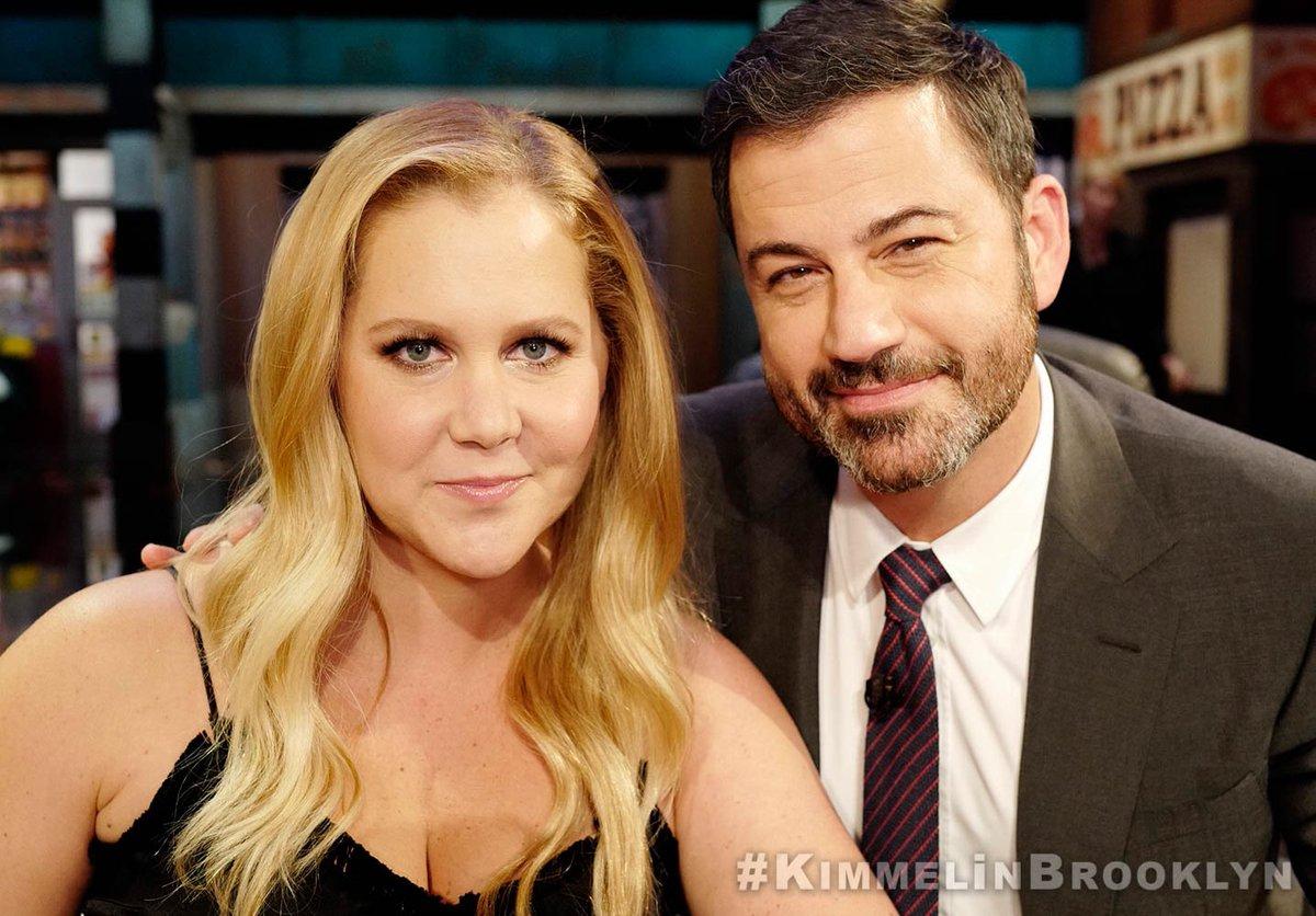 Watch me on @JimmyKimmel – Tonight on ABC! #KimmelINBrooklyn https://t.co/Q2ICQurtoY