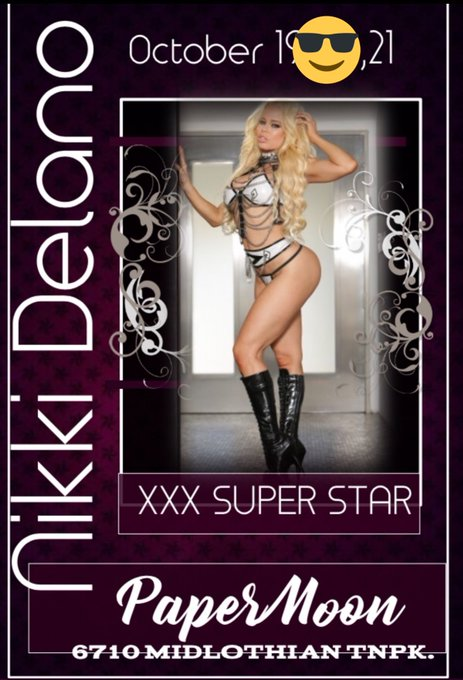 Lovies next week meet me live Oct 26-28 at @PaperMoonSouth can't wait 💃💃💃💃💃 https://t.co/hHWD1JEW9z