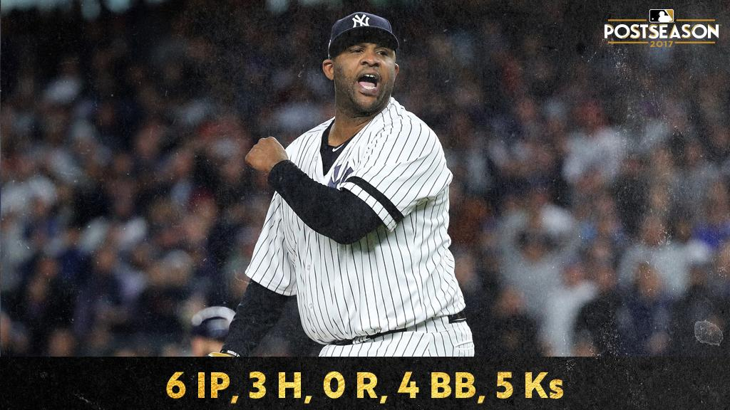.@CC_Sabathia aka The Stopper. https://t.co/AoTlfS6MTZ #ALCS https://t.co/0azdxierBH