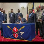 NASA RESPONSE after Uhuru signed into law Electoral ammendments