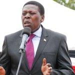 NASA out to cause anarchy, violence - CS Wamalwa